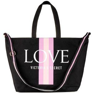 💗 Victoria's Secret LOVE Weekender Tote